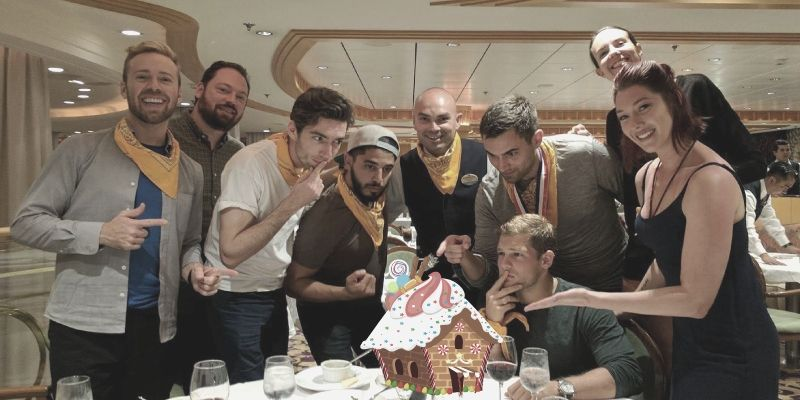 Gingerbread Wars offers a team outing and company holiday party all in one.